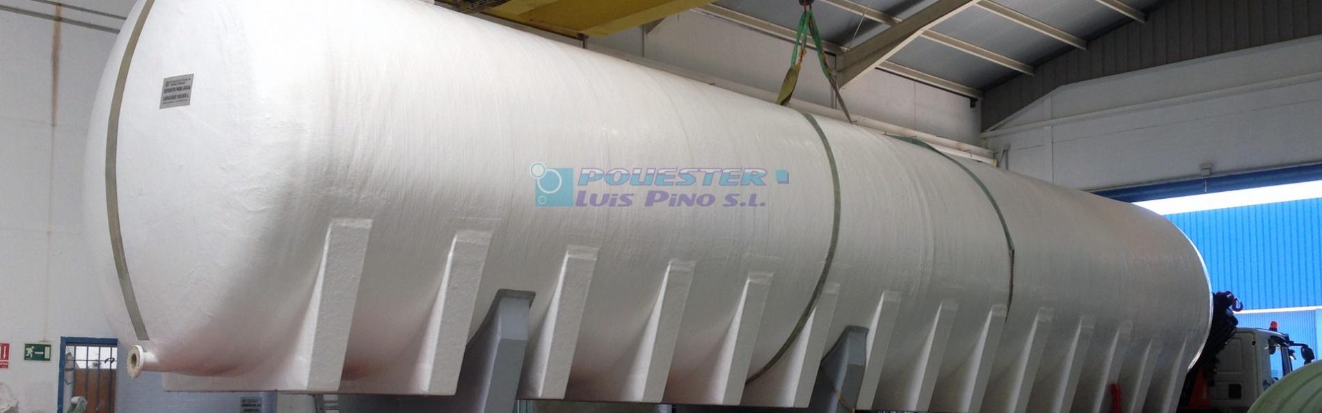 Poli ster luis pino f brica de dep sitos y piscinas for Fabricantes de piscinas de poliester